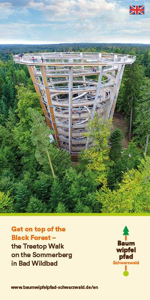 Treetop Walk Black Forest - Flyer 2019