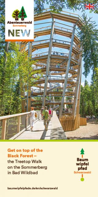 Treetop Walk Black Forest - Flyer 2020
